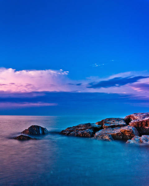 Photograph - Ashbridges Bay Toronto Canada Sunrise No 1 by Brian Carson