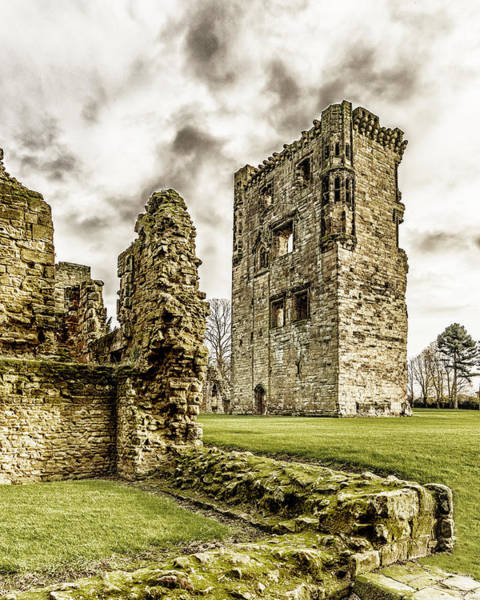 Photograph - Ashby Castle by Nick Bywater