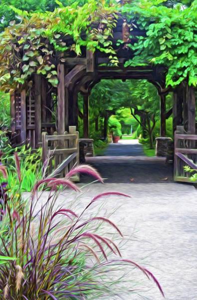Photograph - Asheville Nc Arboretum by Ginger Wakem