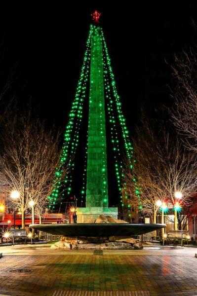 Photograph - Asheville Christmas by Carol Montoya