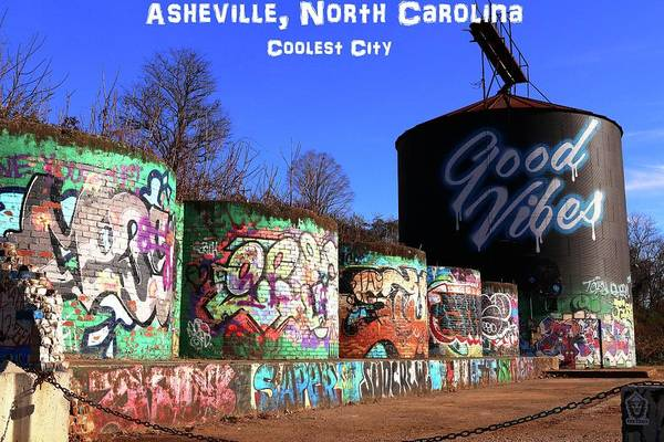 Photograph - Asheville North Carolina Coolest City by Carol Montoya