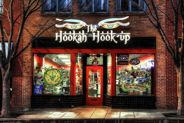 Photograph - Asheville's The Hookah Hook Up Shop by Carol Montoya