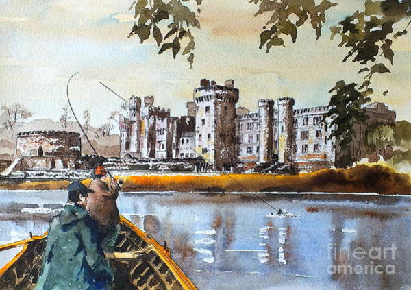 Painting - Ashford Castle, Galway by Val Byrne