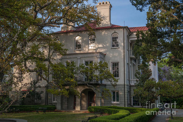 Photograph - Ashley Hall School In Charleston Sc by Dale Powell