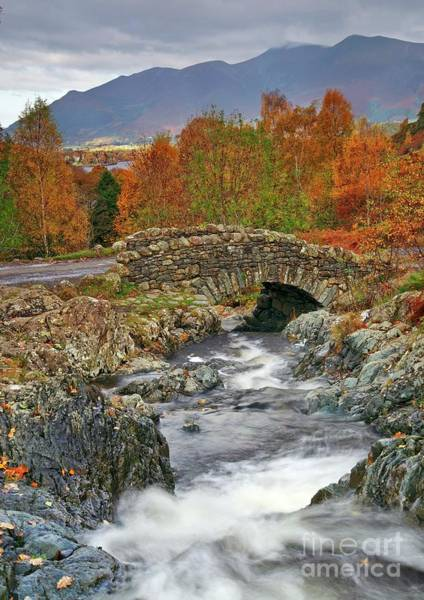 Photograph - Ashness Bridge, Lake District by Martyn Arnold