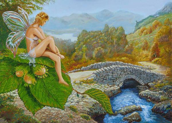 Lake District Painting - Ashness Faery by Tomas OMaoldomhnaigh