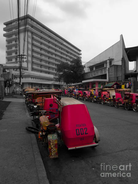 Photograph - Asia Philippines Taxis 6282018sc by Rolf Bertram