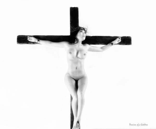 Wall Art - Photograph - Asian Female Jesus In High Key I by Ramon Martinez