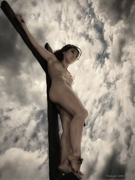 Wall Art - Photograph - Asian Female Jesus In Warm Tones by Ramon Martinez