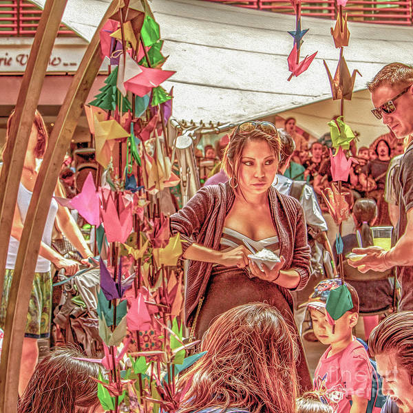 Photograph - Asian Festival by Nigel Dudson
