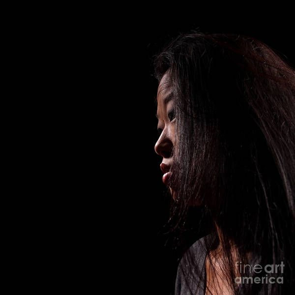Photograph - Asian Girl 1284490 by Rolf Bertram