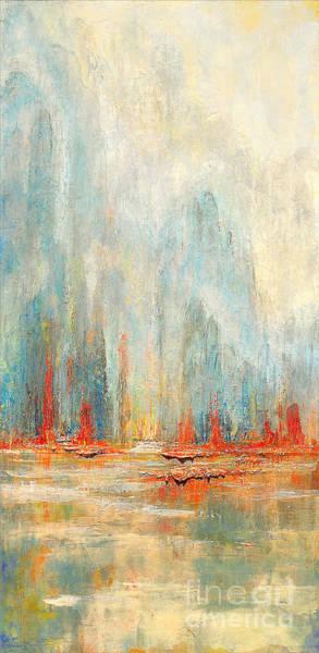 Painting - Asian Hearth Sea by Kaata    Mrachek
