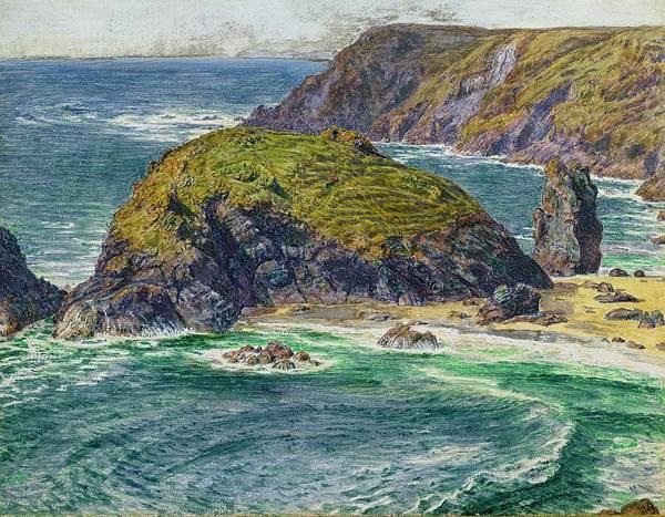 Asparagus Wall Art - Painting - Asparagus Island by William Holman Hunt