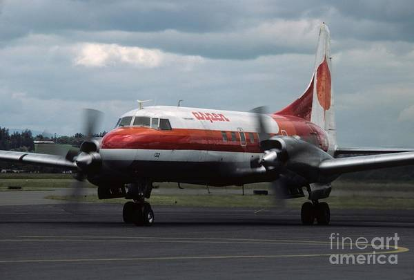 Photograph - Aspen Convair 580 by James B Toy