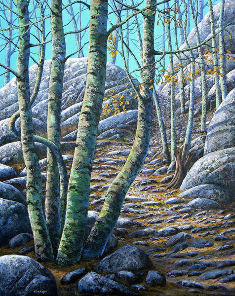 Painting - Aspen Trail by Frank Wilson