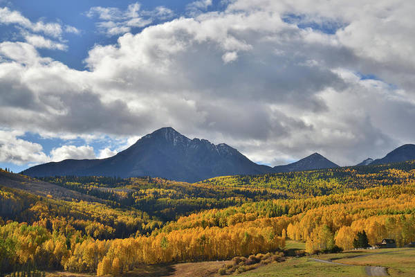 Photograph - Aspen Valley On Wilson Mesa by Ray Mathis