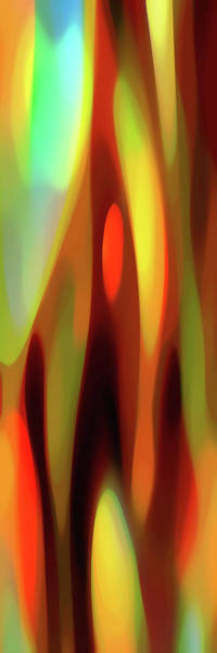 Wall Art - Digital Art - Aspiring Light Panoramic Vertical by Amy Vangsgard