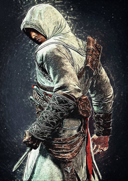Digital Art - Assassin's Creed - Altair by Zapista Zapista