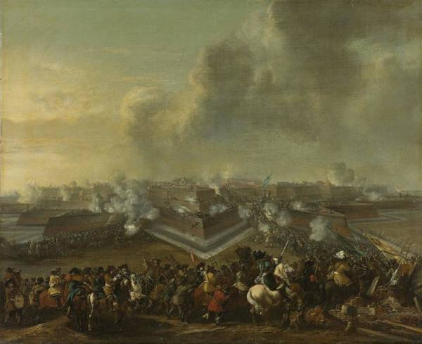 Painting - Assault On The Town Of Coevorden by Celestial Images