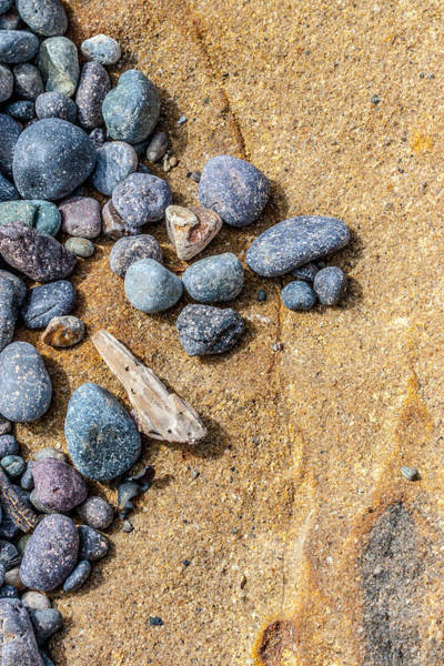 Beachscape Photograph - Assorted Beach Stones by W Chris Fooshee