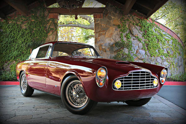 Photograph - Aston Martin Db24 Allemano by Steve Natale