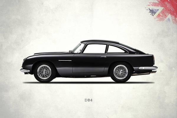 Martin Photograph - Aston Martin Db4 by Mark Rogan