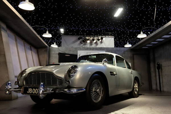 Wall Art - Digital Art - aston martin DB5 by Lissa Barone