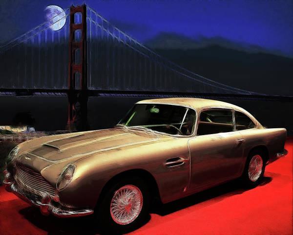 Db5 Wall Art - Photograph - Aston Martin Db5 by Wingsdomain Art and Photography
