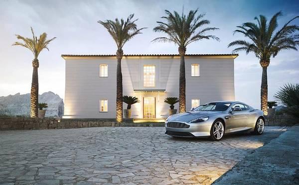Aston Martin Photograph - Aston Martin Db9 by Mariel Mcmeeking