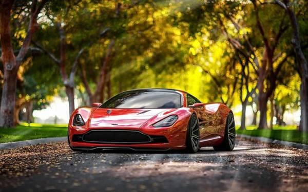 Aston Martin Photograph - Aston Martin Dbc by Jackie Russo