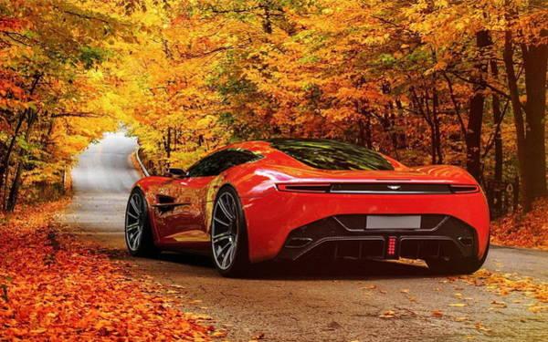 Aston Martin Photograph - Aston Martin Dbc by Mariel Mcmeeking