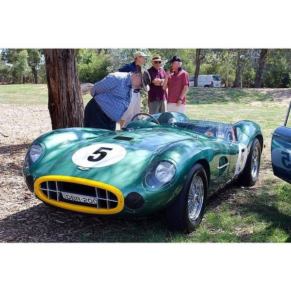 Aston Martin Photograph - Aston Martin Dbr 1. This Was At The by Anthony Croke