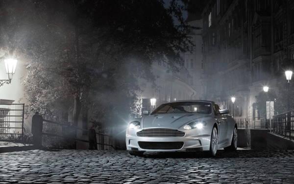 Digital Art - Aston Martin Dbs by Maye Loeser