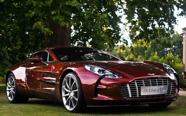 Aston Martin Photograph - Aston Martin One-77 by Mariel Mcmeeking