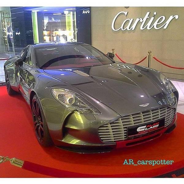 Aston Martin Photograph - Aston Martin One-77 Q-series X Cartier! by AR Carspotter