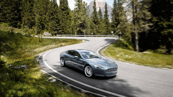 Aston Martin Photograph - Aston Martin Rapide by Jackie Russo