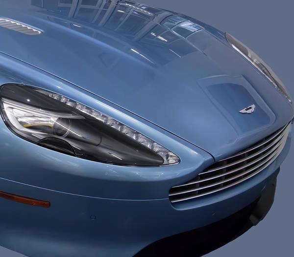 Photograph - Aston Martin by Richard Goldman