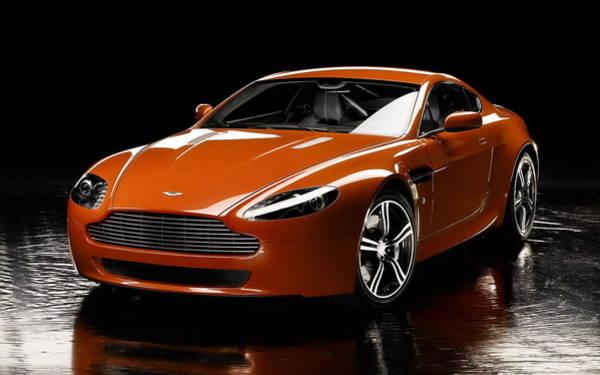 Aston Martin Photograph - Aston Martin V8 Vantage by Jackie Russo
