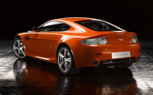 Aston Martin Photograph - Aston Martin V8 Vantage by Mariel Mcmeeking