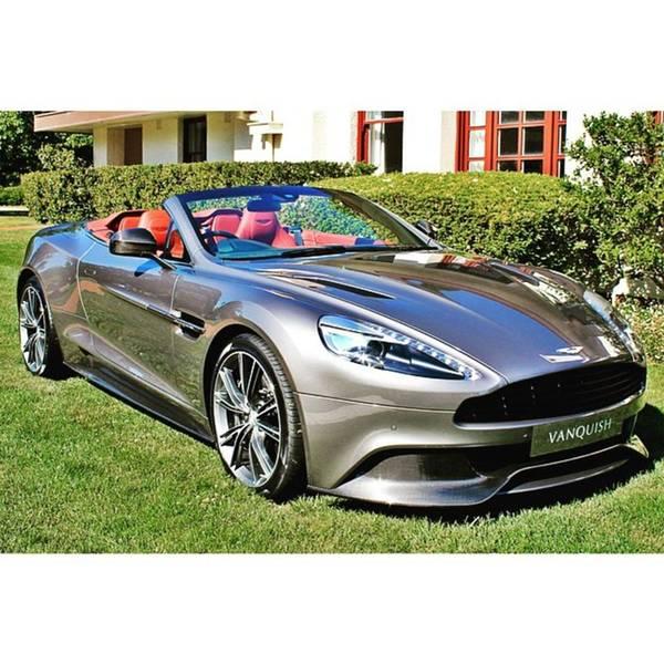 Aston Martin Photograph - Aston Martin Vanquish Convertible by Anthony Croke