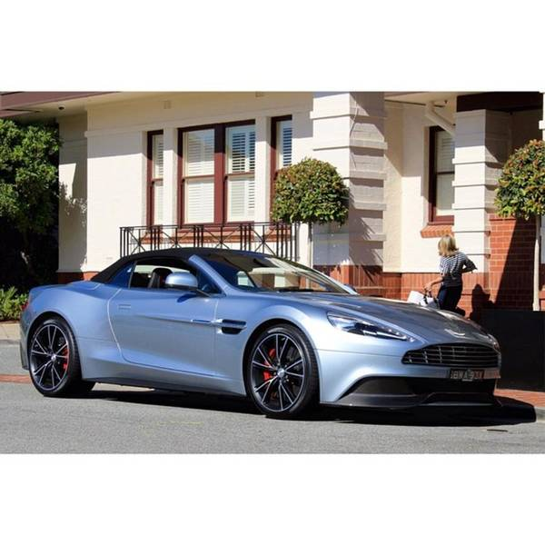 Aston Martin Photograph - Aston Martin Vantage Convertible by Anthony Croke