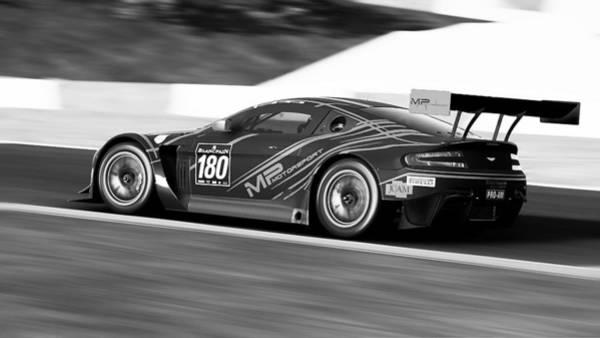 Photograph - Aston Martin Vantage Gt3 - 39 by Andrea Mazzocchetti