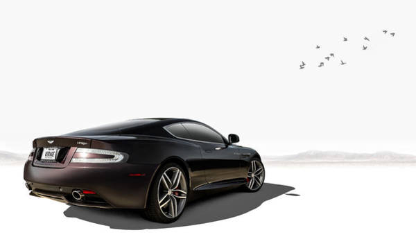 Wall Art - Digital Art - Aston Martin Virage by Douglas Pittman