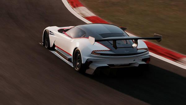 Photograph - Aston Martin Vulcan - 27 by Andrea Mazzocchetti