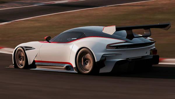 Photograph - Aston Martin Vulcan - 28 by Andrea Mazzocchetti