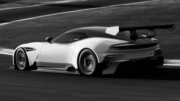 Photograph - Aston Martin Vulcan - 29 by Andrea Mazzocchetti
