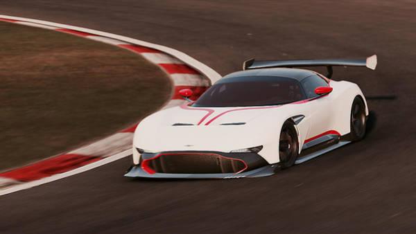 Photograph - Aston Martin Vulcan - 32 by Andrea Mazzocchetti
