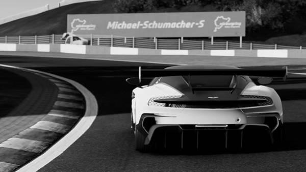 Photograph - Aston Martin Vulcan - 35  by Andrea Mazzocchetti