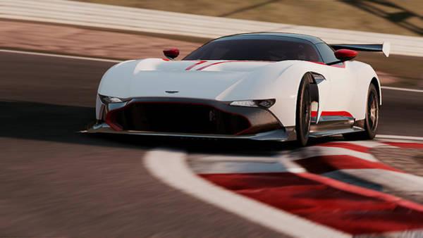 Photograph - Aston Martin Vulcan - 42 by Andrea Mazzocchetti