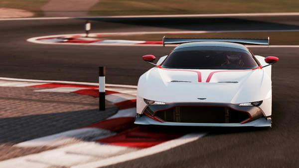 Photograph - Aston Martin Vulcan - 47 by Andrea Mazzocchetti